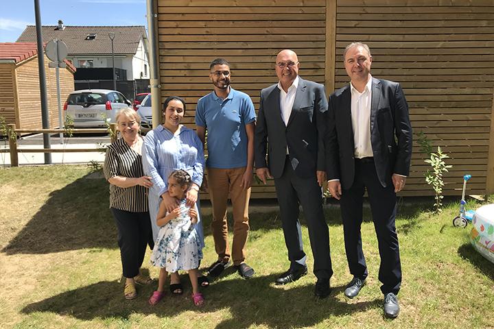 52 nouveaux logements inaugurés à Soissons
