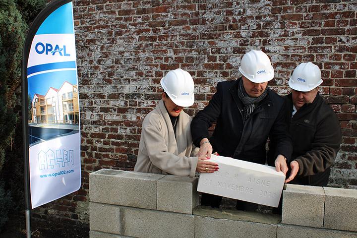 Le chantier a démarré sur le site de l'ancienne gendarmerie à Ribemont