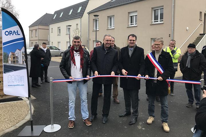 Sissonne : le site de l'ancienne gendarmerie transformé en 16 logements