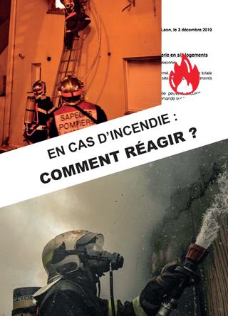 En cas d'incendie, comment réagir ?
