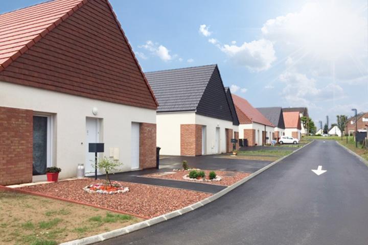 Etreux quartier du Gard / 25 logements