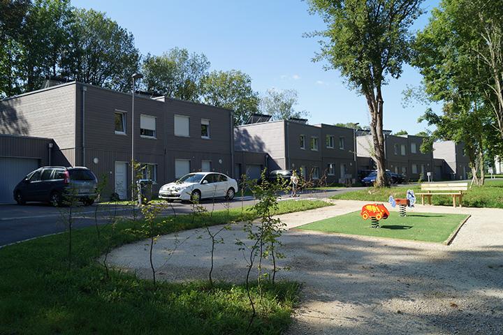 Nesles-la-Montagne rue Jean Eschard / 23 logements