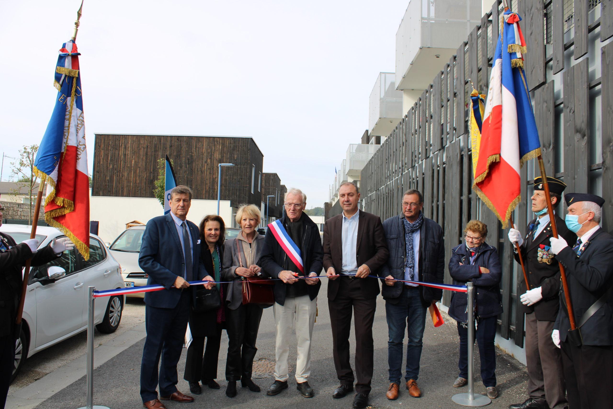 Le programme de 45 logements à Crouy inauguré !